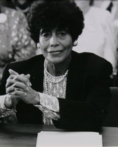 Wynona Lipman - First African-American woman to be elected to the New Jersey Senate